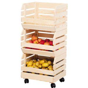 Kesper Kartoffel- & Obsthorde ♥  ♥ Kesper Kartoffel- & Obsthorde  ♥ 3 x Kisten ♥ 6 kg
