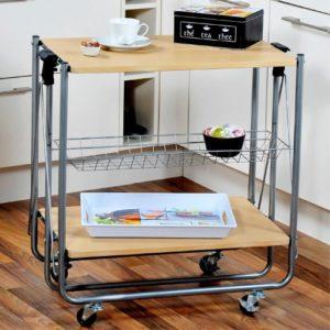 Kesper Küchenwagen ♥ Böden aus Faserplatte