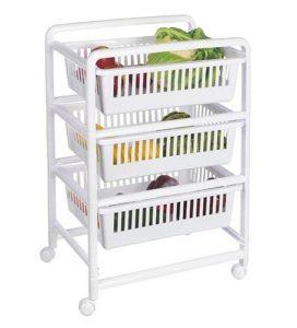 Küchenrollwagen mit 3 Körben ♥  ♥ Küchenrollwagen ♥ 3 x Körbe zum Ausziehen ♥ Küchenwagen kaufen
