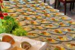 Küchenwagen am Buffet